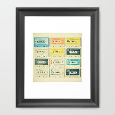 All Tomorrow's Parties Framed Art Print by Cassia Beck - $38.00