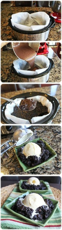 Slow Cooker Hot Fudge Cake Crock Pot Chocolate Lava Cakes Related posts: Slow Cooker Chocolate Lava Cake – a moist delicious cake oozing with hot chocola… Slow Cooker Chocolate Lava Cake Slow Cooker Chocolate Lava Cake Hot Fudge, Fudge Cake, Brownie Cake, Think Food, I Love Food, Crock Pot Desserts, Dessert Recipes, Crock Pots, Cake Recipes
