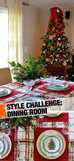 Trendspotting: Classic red and green holiday decor is always stylish!
