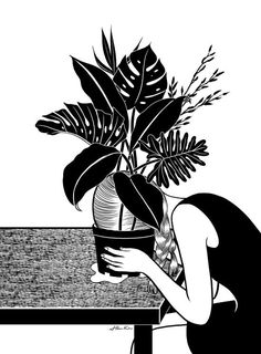 """I got It's OK, life is hard, but """"Tragedy Makes You Grow Up,"""" by Henn Kim might soothe you.! What Piece Of Art Should You Buy?"""