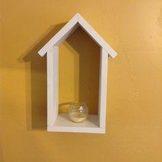 Handmade Birdhouse Shadow Box Shelf Bird by SoilandSawdust on Etsy