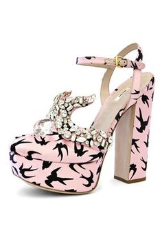 miu miu Shoes, Im not crazy about the pattern with the jewels nut I love the style of the shoe
