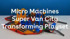 Micro Machines Super Van City is the dream gift for any child. The van opens up into a city with 20 #action zones and 12 #vehicles for lots of #playtime fun. #hasbro #micromachines #supervancity #retrotoys #play #toys #retrotoys #racing #van #supervancity #toyreview #playsets #playset #racecars #trackset #city #cars #giftsforkids #holidaygifts #hottoys
