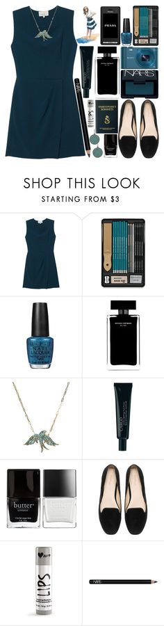 """289. No Matter How I Try, I Find My Way Into The Same Old Jam"" by raelee-xoxo ❤ liked on Polyvore featuring 3.1 Phillip Lim, NARS Cosmetics, Sony, OPI, Narciso Rodriguez, Prada, CARGO, Butter London, Zara and Aéropostale"