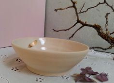 Schüsseln & Schalen - Schale Schälchen Feder Keramik - ein Designerstück von art-mate bei DaWanda