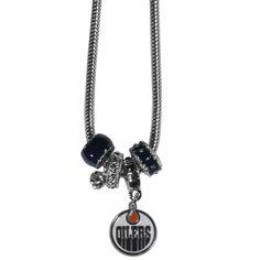 Edmonton Oilers®... http://www.757sc.com/products/edmonton-oilers-euro-bead-necklace-sskg?utm_campaign=social_autopilot&utm_source=pin&utm_medium=pin #nfl #mlb #nba #nhl #ncaaa #757sc