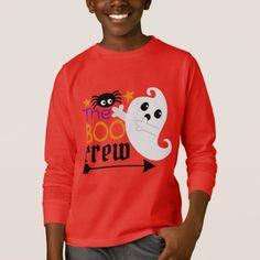 The Boo crew Halloween kids unisex t-shirt - kids kid child gift idea diy personalize design