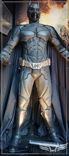 The Establishing Shot: Christian Bale's original Batman Costumes from The Dark Knight Rises - London by Craig Grobler, via Flickr