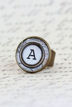 Statement Ring Personalized