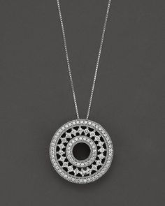 A delicate filigree circle pendant, encrusted with diamonds in 14 Kt. Coin Jewelry, Gems Jewelry, Pendant Jewelry, Diamond Jewellery, Stylish Jewelry, Schmuck Design, Wedding Ring Bands, Diamond Pendant, Jewelry Design