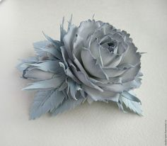 Заколка для волос с цветами, красивый цветок в прическу, украшение для волос, красивая заколка с цветами, мастер Любовь Амосова