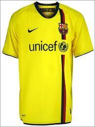 BARCELONA FC away 2008-09