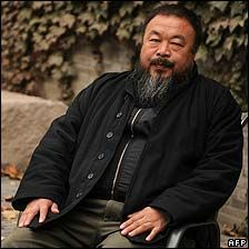 Ai Weiwei - if we could each be as courageous as you are.