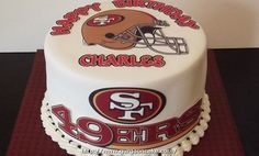 49er Birthday Cake Picture