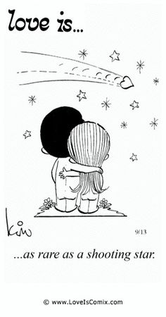 Love is. Comic Strip, Love Comic, Love Quotes, Love Pictures - Love is. Comics - Comic for Wed, Apr 2015 Love Is Cartoon, Love Is Comic, Todays Comics, Best Love Quotes, Sweet Words, Shooting Stars, Love Notes, Love Pictures, Happy Thoughts