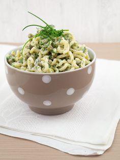 Kräuter-Nudelsalat || danielas foodblog || Histaminarm kochen und backen