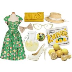 So much to love: 50s style by Hals. Vintage tea/lemonade party