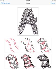 How to draw pattern Avreal. List of patterns