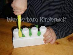 Wunderbare Kinderwelt: Monsterstarke Zähne putzen