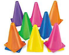 Color Cones: Seems like a must for protecting certain zones, directing play
