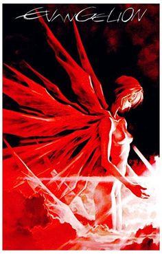 Evangelion Neon Genesis Angel Anime Poster 11x17