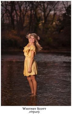 Kaittt, I love the creek at like dawn or dusk for senior pictures! I was thinking maybe when we go to Camp Wood if Nolan comes we could use the river.