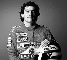 "Ayrton Senna 1960-1994 ""I have no idols. I admire work, dedication and competence."""