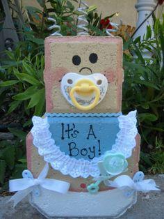 Baby Boy Patio Person Personalized Baby by SunburstOutdoorDecor, $22.00