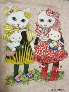 Hello Kitty higuchiyukotumblr_m0d9m7y5MJ1qzfanlo1_1280.jpg (966×1280)