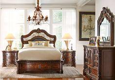Mcferran B188 4 Piece Bedroom Set Bedroom Pinterest Bedrooms Master Bedroom And Nightstands