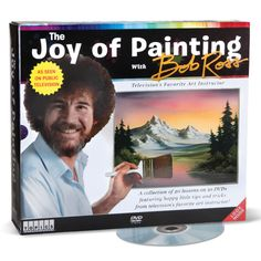 The Bob Ross Painting Tutorial - 10 hours of lessons on 10 DVDs: in other words, an endless supply of amazing naps! Hammacher Schlemmer $89.95