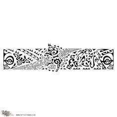 23 Best Samoan Armband Tattoo Designs Images Polynesian Tattoos