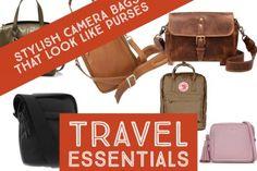 Camera Bags that Look Like Purses