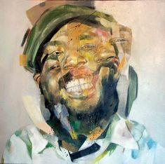 Think I'll dream - 60cm x 60cm - Oil on canvas - Benjamin García