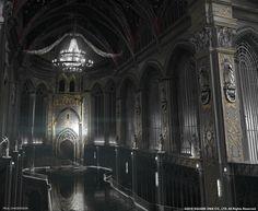 Dark Fantasy Throne Rooms