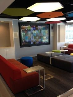 """Our Technology Center features the """"open"""" design in vogue among Silicon Valley upstarts. It has 11 offices."""