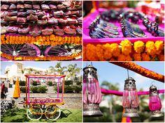 Destination Indian wedding decor on IndianWeddingSite.com
