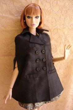 OOAK fashion for Poppy Parker Misaki Nuface dolls par lulumaygang