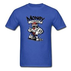 Amazon com SiMaxq Ugly Money Maker Funny Graffiti Men T shirt Clothing