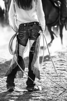 Cowgirl chaps