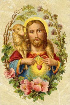 Heiligenbild - Hl. Herz Jesu                                                                                                                                                                                 Mehr