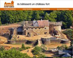 Guédelon en 2012 #Yonne #Medieval