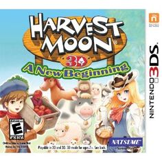 Harvestmoon A New Beginning Nintendo 3DS Buy Online