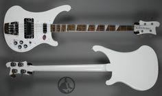 Rickenbacker Bass White