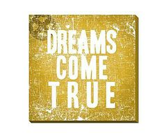 Segundas oportunidades de otoño: Cartel decorativo Dreams – beige