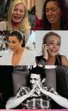 THIS IS SO TERRIBLE...HOW COULD YOU LAUGH AT - oohh, James Franco!!! <3 #forgiven #kindof