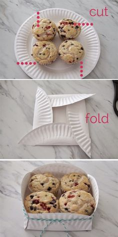 ATMOST20: TURN YOUR PAPER PLATE INTO A CUTE GIFT BOX!