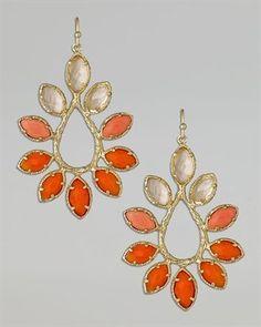 Love big earrings