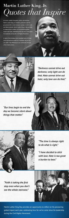 ~Joy in the Journey~: Martin Luther King Quotes & Activities Teaching Us History, History Activities, Teaching Tips, Martin Luther King Quotes, 4th Grade Classroom, Big Words, Its Friday Quotes, Do What Is Right, Little Learners
