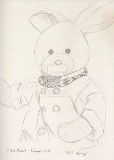 Zackary Rabbit 'Cooking Wif Rabbits' portrait by SunnyArts.deviantart.com on @deviantART
